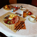 Breakfast in hotel Avion in Prostějov