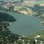 Vodní nádrž Plumlov. Zdroj: pmo.cz