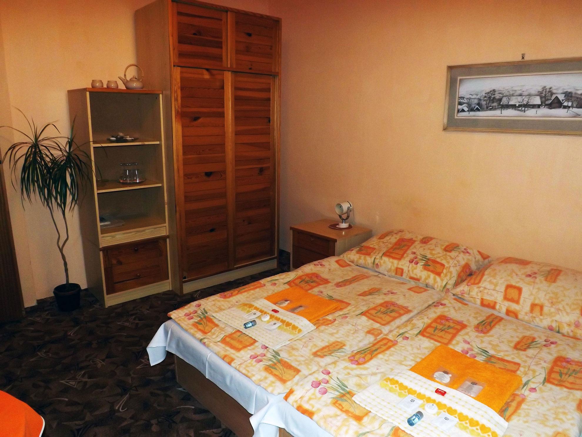 Ubytování v hotelu Avion v Prostějov